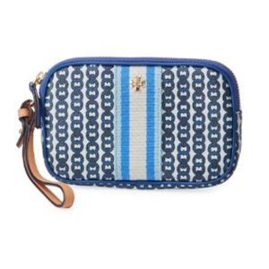 Tory Burch Gemini Link Canvas Wallet